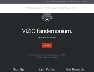 espys.viziofanzone.com screenshot