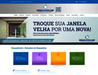 esquadralum.com.br screenshot
