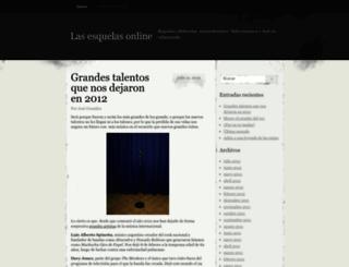 esquelas.wordpress.com screenshot