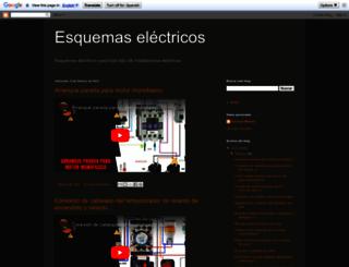 esquemasyelectricidad.blogspot.com.es screenshot