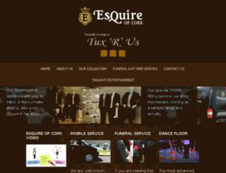 esquireofcork.ie screenshot