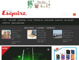 esquirevietnam.com.vn screenshot
