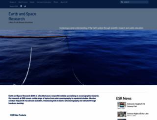 esr.org screenshot