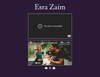 esrazaim.com screenshot