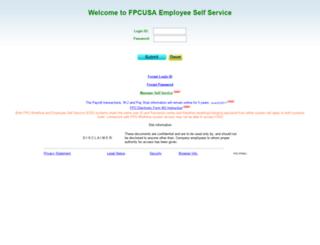 ess.fpcusa.com screenshot