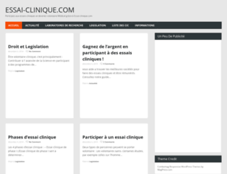 essai-clinique.com screenshot