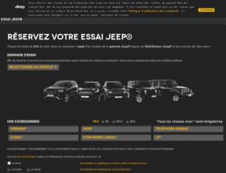 essais.jeep.fr screenshot