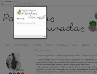 essasfrescurites.blogspot.com.br screenshot
