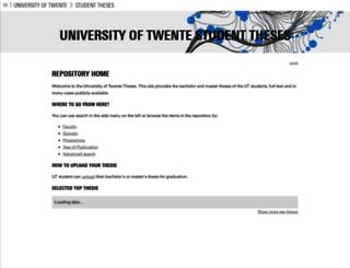 essay.utwente.nl screenshot