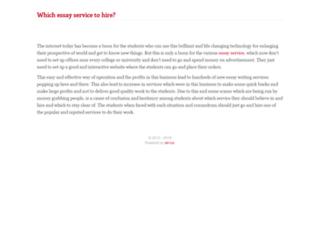 essayservices.aircus.com screenshot