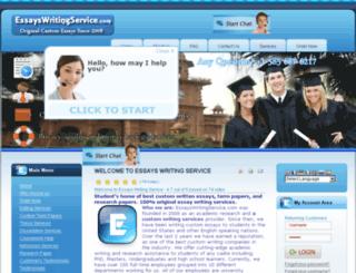 essayswritingservice.com screenshot