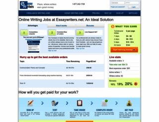 essaywriters.net screenshot