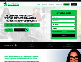 essaywriting.com.pk screenshot