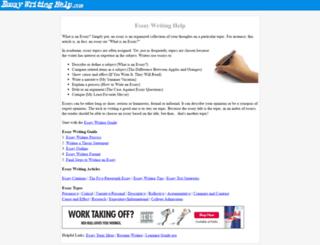 essaywritinghelp.com screenshot