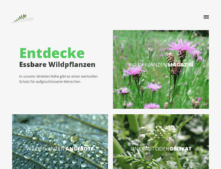 essbare-wildpflanzen.de screenshot