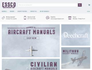 esscoaircraft.com screenshot