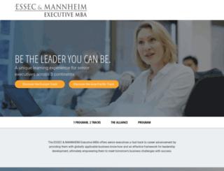 essec-mannheim.com screenshot