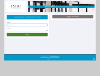 essec.sona-systems.com screenshot