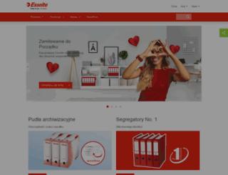 esselte.com.pl screenshot