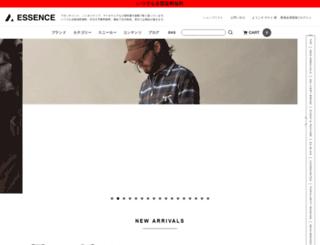 essence-web.jp screenshot