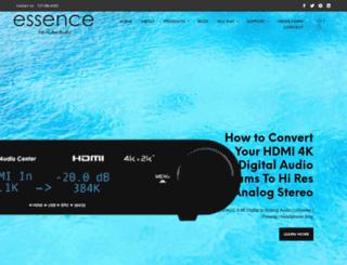 essenceelectrostatic.com screenshot