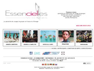 essencielles-voyages.com screenshot