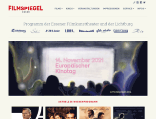 essener-filmkunsttheater.de screenshot