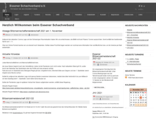 essener-schachverband.de screenshot