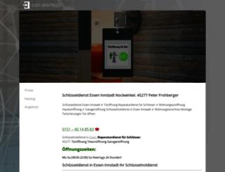 essener-schluesseldienste.de screenshot