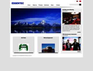 essentecool.com screenshot