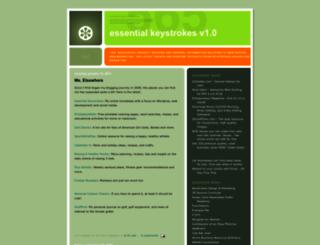 essential-keystrokes.blogspot.nl screenshot