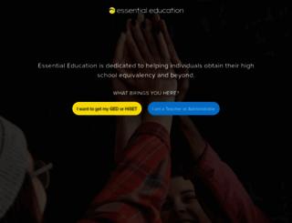 essentialed.com screenshot