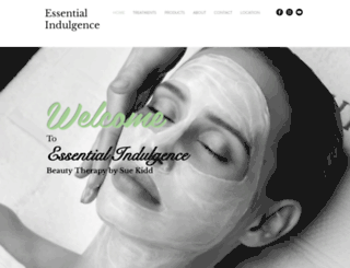 essentialindulgence.com.au screenshot