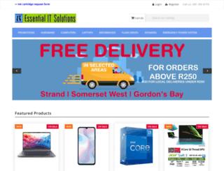 essentialit.co.za screenshot