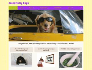 essentiallydogs.com screenshot