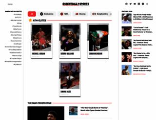 essentiallysports.com screenshot