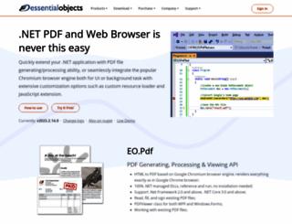 essentialobjects.com screenshot