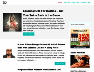essentialoilbenefits.com screenshot