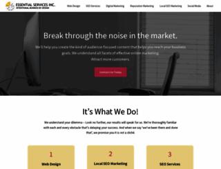 essentialservicesinc.com screenshot