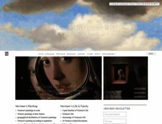 essentialvermeer.com screenshot