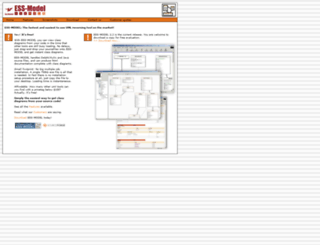 essmodel.sourceforge.net screenshot