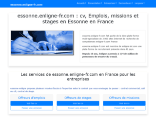 essonne.enligne-fr.com screenshot