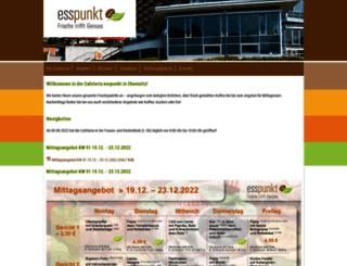 esspunkt-chemnitz.de screenshot
