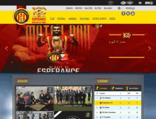 est.org.tn screenshot
