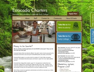 estacadacharters.org screenshot