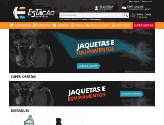 estacaomotoparts.com.br screenshot