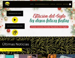 estaciondelsiglo.net screenshot