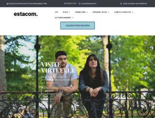 estacom.fr screenshot