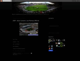 estadiospeswe.blogspot.com screenshot