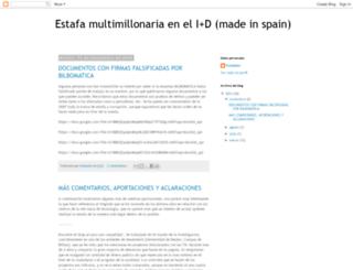 estafacorrupcion.blogspot.com.es screenshot